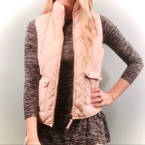 Francescas collections pink vest size small!